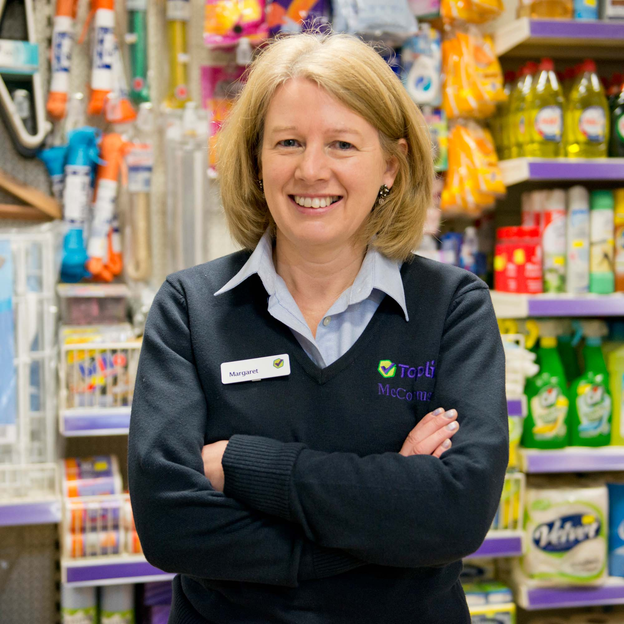Shop Assistant - Margaret Deane