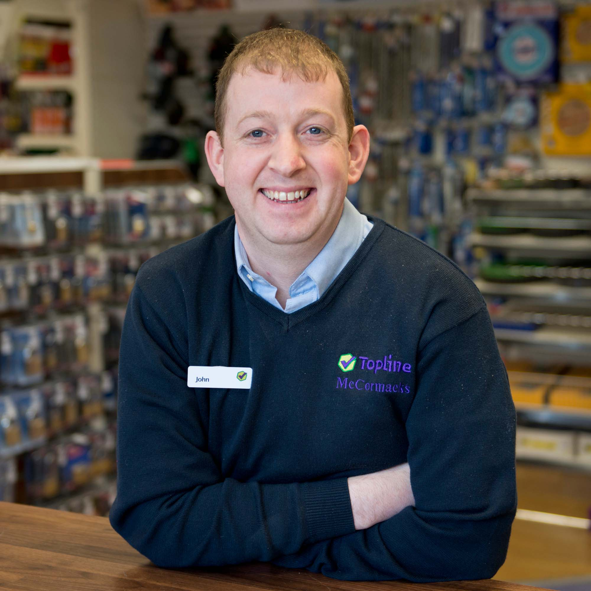 Shop Manager - John Moore