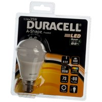 Duracell  LED A-Shape Light Bulb - 6W BC