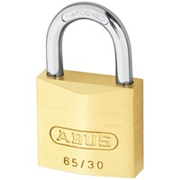 Abus  65 Series Brass Padlock - 30mm