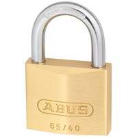 Abus  65 Series Brass Padlock - 40mm