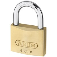 Abus  65 Series Brass Padlock - 50mm