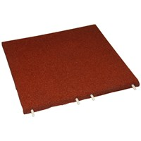 Rubberlok  Red Safety Tile