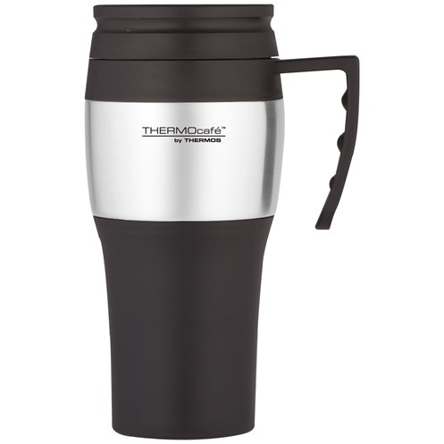Thermos ThermoCafé Stainless Steel Travel Mug - 400ml
