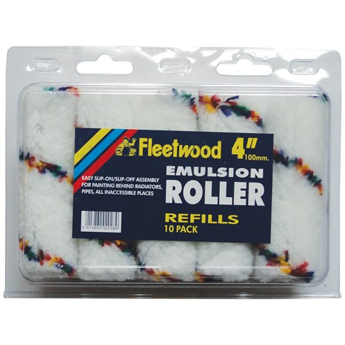 Fleetwood  4in Emulsion Roller Sleeve - 10 Pack