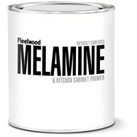 Fleetwood  Melamine & Kitchen Cabinet White Satin Primer - 1 Litre