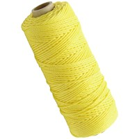 Faithfull  Hi-Vis Nylon Brick Line 105m - Yellow
