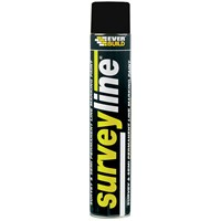 Everbuild  Surveyline Paint 700ml - Black