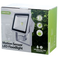 Powermaster  Motion Sensor LED Floodlight - 30W
