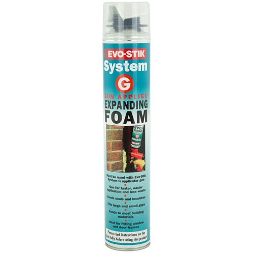 Evo-Stik  System G Gun Applied Expanding Foam - 750ml