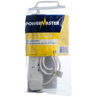 Powermaster  2m Individually Switched Extension Lead - 13 Amp 4 Gang