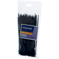 Powermaster  Cable Tie Black - 200 x 4.8mm