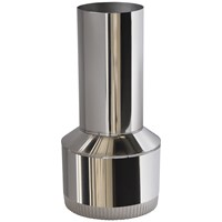 Heat Design  Single Wall Flue Pipe Reducer 8 to 5in