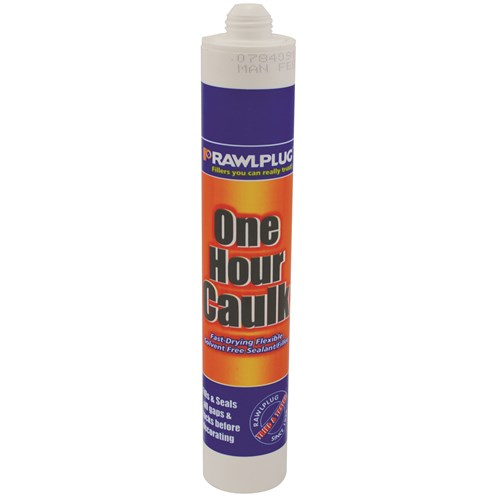 Rawlplug  Decorators One Hour Caulk - 380ml