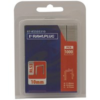 Rawlplug  RL53 Staples - 1,000 Pack