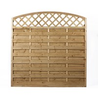Independent Fencing  Duston Arch Up Fence Panel - 1800 x 1800mm