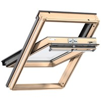 Velux  Triple Glazed Centre Pivot Roof Window Pine -  GGL 3066