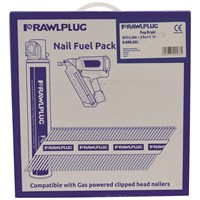 Rawlplug  Bright Ring Framing Nails - 3,300 Pack