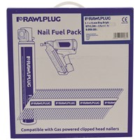 Rawlplug  Silver Galvanised Framing Nails - 2,200 Pack