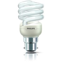 Philips Tornado B22 Energy Saver Spiral Light Bulb - 20W