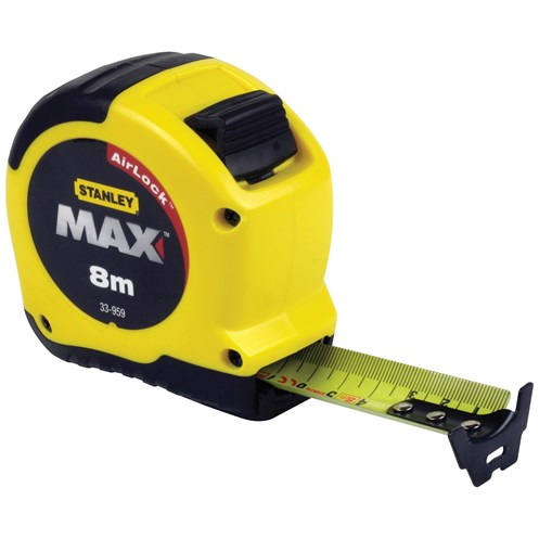 Stanley  Max Measuring Tape - 8m