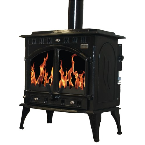 Blacksmith Farrier 23kW Non Boiler Stove - Black Enamel